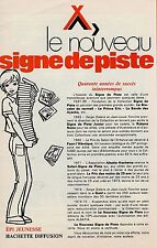 Encart catalogue Nouveau Signe de piste DT10 Joubert Gourlier Scout Alsatia EPI