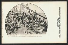 SCARCE UNION CASTLE LINE SS PEMBROKE CASTLE CAPE BOER WAR SOUTH AFRICA c1900