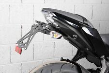 LighTech KTARKA122 Portatarga Regolabile per Kawasaki Z650 2017-2020 - Nera