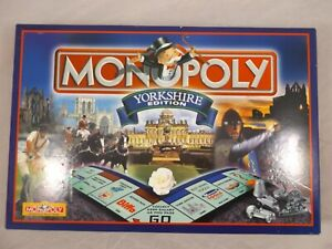 Monopoly Yorkshire Edition 1999 Board Game Winning Moves Complete Family Party