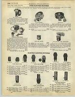 1928 PAPER AD Automobile Car Auto Electric Cuno Cigarette Cigar Lighter