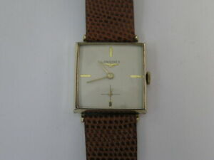 Vintage Longines Watch Fancy Lugs Cal 370 1962