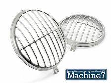 Classic VW Beetle Headlamp Porsche 356 Style Grille Stainless Bug -67 Split Bus