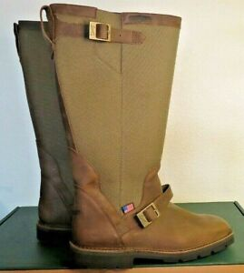 Danner San Angelo SnakeBoots Men's Brown Leather Hunting Boots 45033 Size 9D