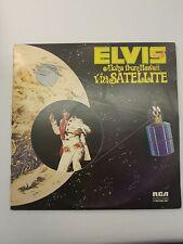 Elvis Presley Aloha from Hawaii via Satellite vinyl double album.