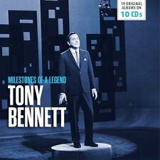 TONY BENNETT - 19 ORIGINAL ALBUMS 10CD WALLET BOX SET 10 CD NEUF