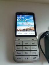 Nokia C3-Plateado (- Mobile) Teléfono Móvil T