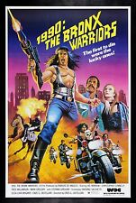 1990 THE BRONX WARRIORS CineMasterpieces MOVIE POSTER NEW YORK GANG VIOLENCE '83