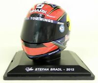 Altaya 1/5 Scale - Stefan Bradl 2012 Shark Moto GP Helmet with Plinth and Case