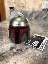 Hallmark Boba Fett Helmet Star Wars Blown Glass Ornament - 2018 New Star Wars