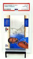 2009 Studio Rockets MVP Star JAMES HARDEN Rookie Card PSA 10 GEM MINT / Pop 68