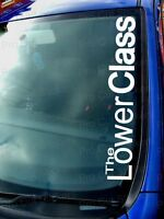 500mm (50cm) Large The Lower Class Sticker Decal Graphic JDM DUB VW EURO FUNNY