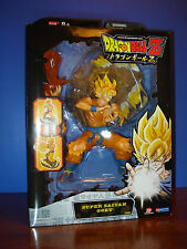 "Bandai, Dragonball Z ""SUPER SAIYAN GOKU"" w/ diorama stand & extra arms. New !"