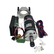 ER11 500W CNC Driver Controller + Brushless Motor + Fixture for Engraving Machin