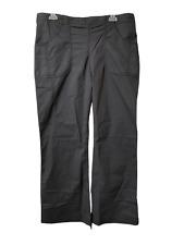 Nwt Landau Black Women's Scrub Pants Size Petite Small