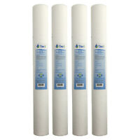 20 x 2.5 Inch P5-20 5 Micron Polypropylene Sediment Water Filter 4 Pack