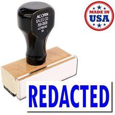 Acorn Sales - Redacted Rubber Stamp