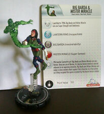 Big Barda and Mister Miracle #053 SR Justice League Heroclix set card GLUED