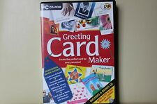 Greeting Card Maker PC CD-ROM Royal Mail 1st Class FAST & FREE