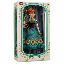 """DISNEY LIMITED EDITION FROZEN FEVER ANNA DOLL 17""""--NEW"""
