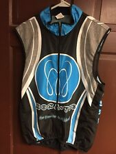 Sugoi Team Cannondale Factory Racing MonaVie Cycling Jersey Vest Large