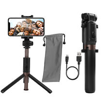 Selfie Stick Tripod Monopod Bluetooth Remote for iPhone 7 8 Plus X Samsung S8 S9