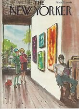 COVER ONLY The New Yorker magazine ~August 5 1961 ~ SAXON ~ Art Gallery