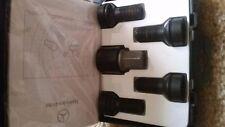 MERCEDES BENZ MB OEM A 0019901607 Wheel lug bolt Locks SHORT version BLACK color