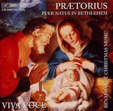 PRAETORIUS  puer natus in bethlehem  VIVA VOCE