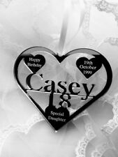 SPECIAL DAUGHTER ,GRANDDAUGHTER 18TH BIRTHDAY GIFT PERSONALISED WITH NAME CASEY