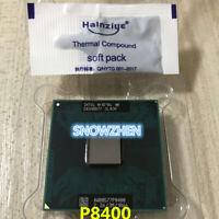 Intel Core 2 Duo P8400 CPU 2.26G 3M 1066MHz PGA SLB3R/SLGFC Laptop processor