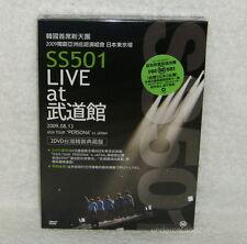 SS501 Live at Budokan Asia Tour Persona in Japan Taiwan Ltd 2-DVD +15-Cards