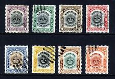 LABUAN 1902-03 Labuan Colony Part Set SG 117 to SG 128 VFU