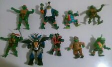 Nice Lot of 9 used teenage mutant ninja turtles figures toys boys girls TMNT
