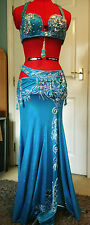 High End Turchese egiziano bellydance costume