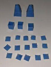 Vintage 1965 Waddingtons Mine A Million Business Game - Blue spare parts