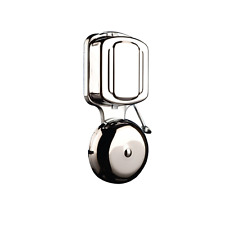Byron 7721 Wired Wall Mounted Chrome Door Mains Transformer Chime Striker Bell