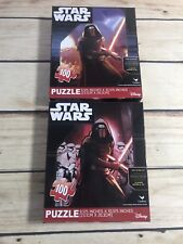 STAR WARS Set of 2-100 Piece Jigsaw Puzzles NEW Xmas Gift Stocking Stuffer