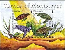 Montserratian Fish & Marine Animal Postal Stamps