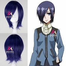 Tokyo Ghoul Wig Kirishima Touka Short Straight Mixed Color Anime Cosplay Wig
