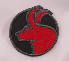 Embroidered Horoscope Astrology Red & Black Taurus Bull Sign Patch Iron On Sew