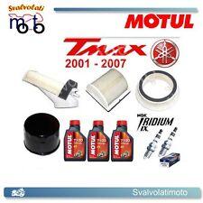 KIT TAGLIANDO TMAX 2007 3 LITRI MOTUL 7100 + FILTRI ARIA + FILTRO OLIO + IRIDIUM