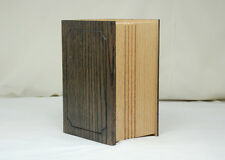 Solid Oak Wood Photo Pet Cremation Urn Of Friends Urns Wholesale and retail