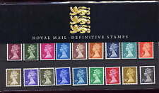 GB 1991 MACHINS 1p - 75p PRESENTATION PACK No.24
