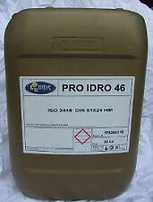 OLIO IDRAULICO ISO 46 BIDONCINO DA 10 LITRI FLUIDO HYDRO ANTIUSURA ANTISCHIUMA