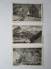 3 karten winter engelberg /