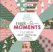"DOVECRAFT PAPER ADDICTS MAGIC MOMENTS 6"" X 6"" SAMPLE PACK - POSTAGE DISCOUNTS"