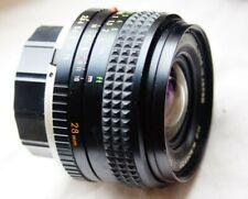 MINOLTA MC W.ROKKOR 28mm 1:3.5 WIDE ANGLE LENS for MC / MD MOUNT