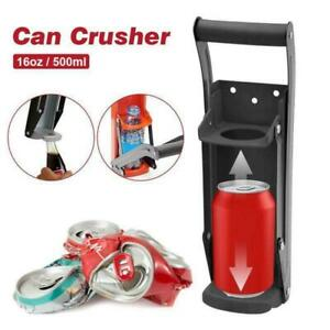 Can Crusher Space Saving Easily Crushes Can Put More Cans Into Your Bins Than Be