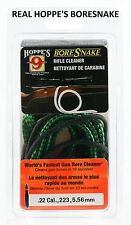 22 .22 .22LR. .223 5.56mm Caliber Rifle Gun Hoppe's Bore Snake Cleaner Free Ship